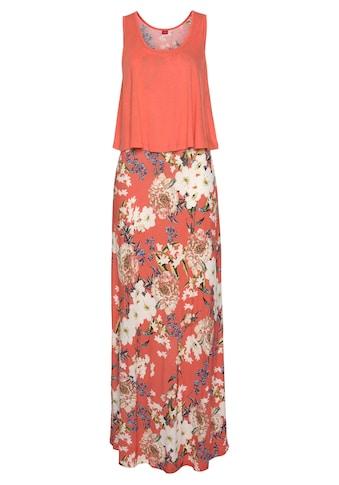 s.Oliver Beachwear Maxikleid, im Lagen-Look kaufen