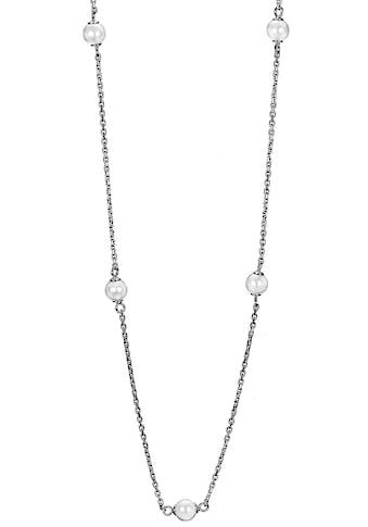 DOOSTI Kette mit Anhänger »SI-N-71-RH-42, SI-N-71-RH-95«, mit synth. Perlen kaufen