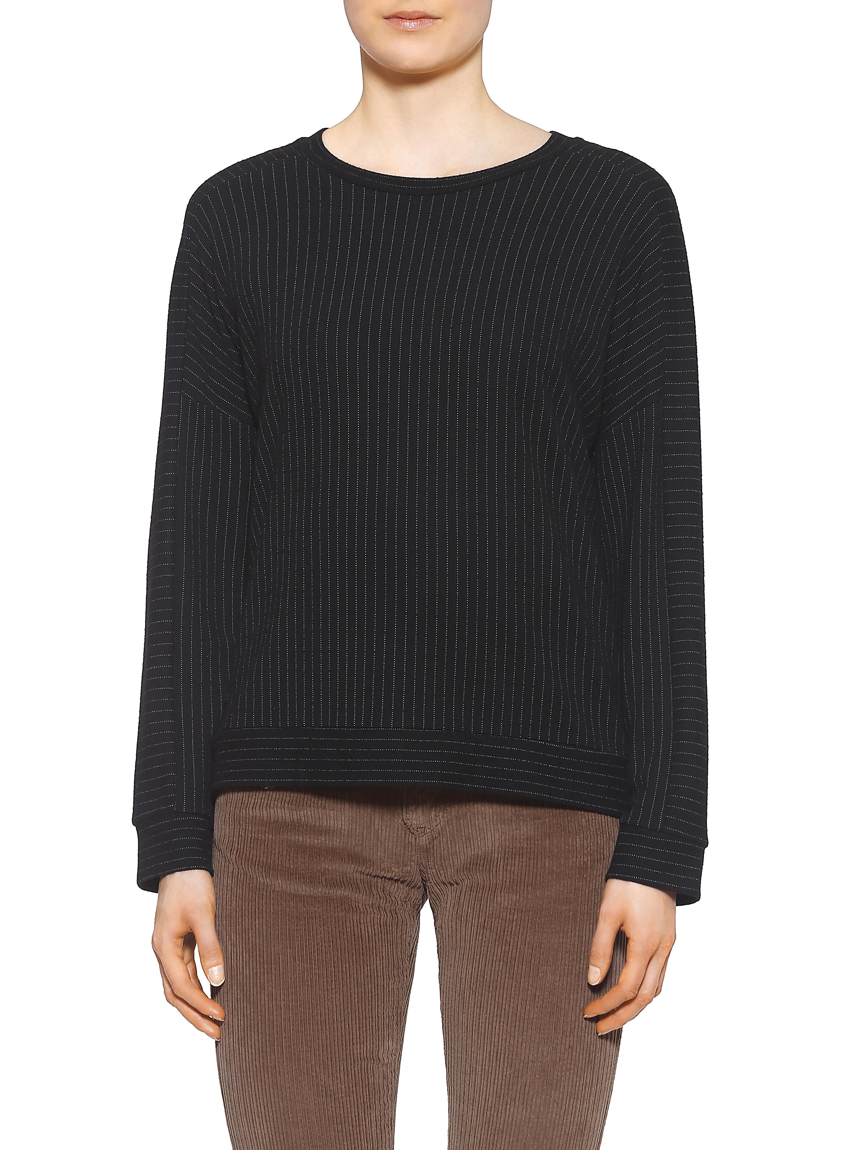 herrlicher -  Sweatshirt mit modischen Nadelstreifendesign
