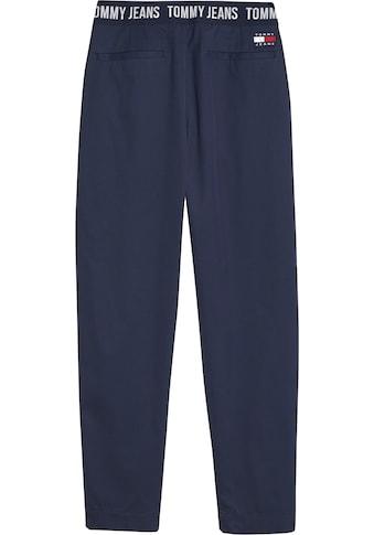Tommy Jeans Bundfaltenhose »TJW SHRS PLEATED TAPERED PANT«, mit Tommy Jeans Logo-Elastikbund hinten kaufen