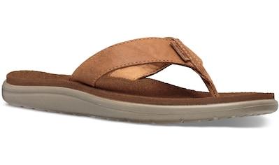 Teva Zehentrenner »Voya Flip Leather Sandal W's« kaufen