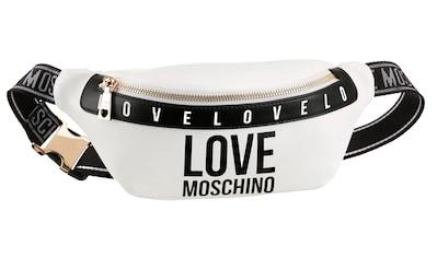 LOVE MOSCHINO Gürteltasche, mit modischem Logo Druck kaufen