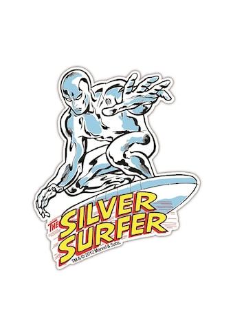 LOGOSHIRT Magnet in coolem Silver Surfer-Design kaufen