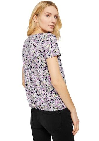 TOM TAILOR T-Shirt, mit schönem Blumen-Muster kaufen