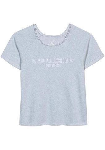Herrlicher Sweatshirt »DIYA LIGHT«, mit Logo-Statement -Print kaufen