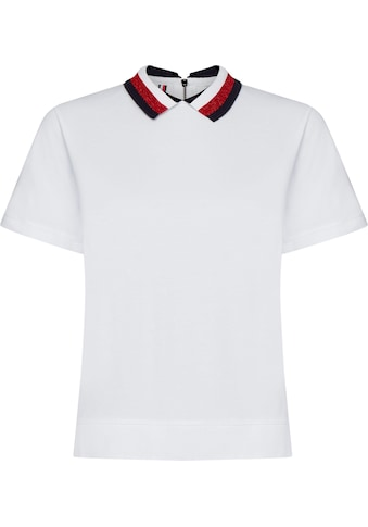 TOMMY HILFIGER Poloshirt »ABBY RELAXED POLO SS« kaufen