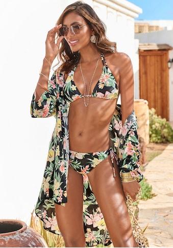 s.Oliver Triangel-Bikini, mit aktuellem Tropenprint kaufen