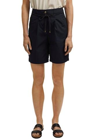 Esprit Bermudas, (2 tlg., mit Bindegürtel), im trendy High-Waist Look kaufen