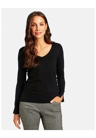 Taifun V - Ausschnitt - Pullover »Basic - Pullover mit V - Ausschnitt« kaufen