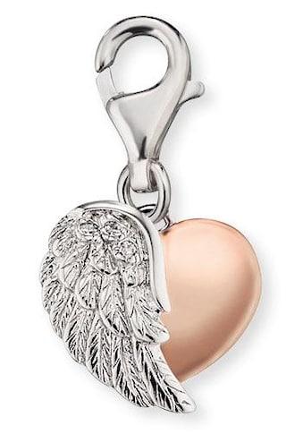 Engelsrufer Charm-Einhänger »HERZFLÜGEL, ERC-HEARTWING-BICOR«, mit Zirkonia kaufen