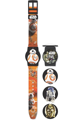 Joy Toy Digitaluhr »Star Wars Flip Top Digitaluhr, 27378«, (Set, 4 tlg., mit 2 austauschbaren Motiven) kaufen