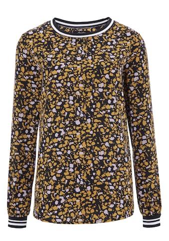 Aniston CASUAL Shirtbluse, mit Rippstrick-Bündchen kaufen