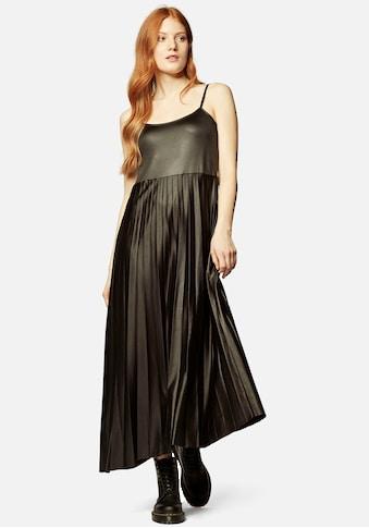 """Mavi Maxikleid »Kleid """"PLEATED""""«, Plisseekleid mit schimmernden Farbeffekt kaufen"""