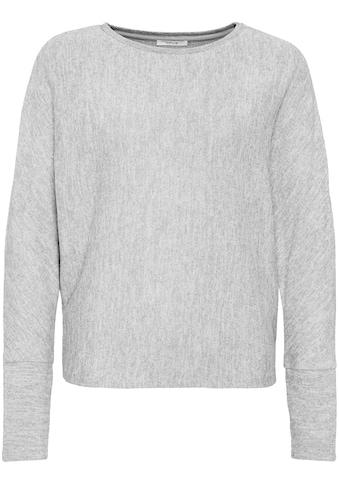 OPUS Langarmshirt »Sevi«, mit lässigen Fit kaufen