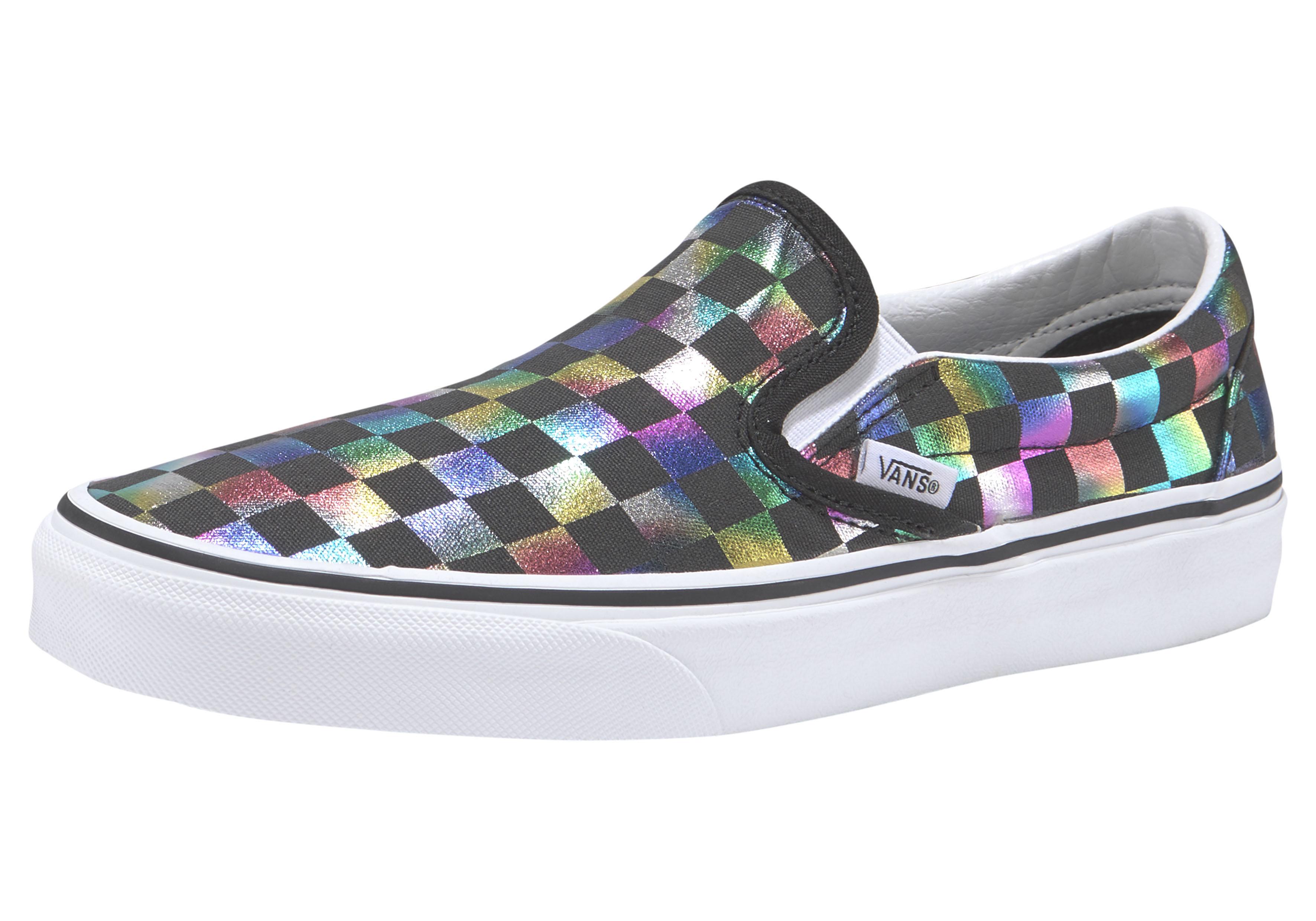 Vans Sneaker Checkerboard Classic Slip-On