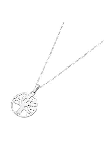 Smart Jewel Kette mit Anhänger »Lebensbaum, Karte, Silber 925« kaufen