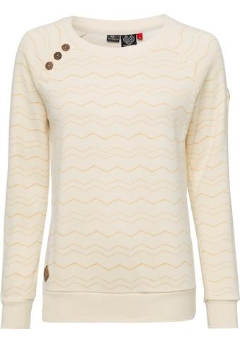 Ragwear Sweater »DARIA CHEVRON«, im Ragwear typischen Zig Zag- Allover-Design kaufen