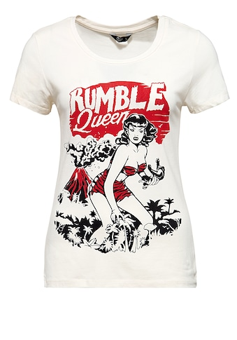 QueenKerosin T-Shirt »Rumble Queen«, im Vintage Look kaufen