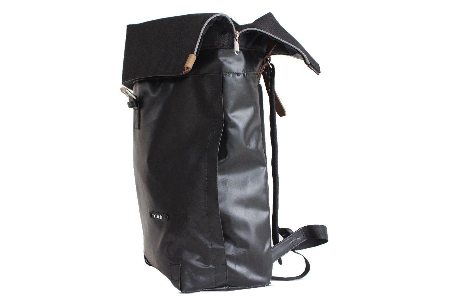 7clouds cityrucksack sowe 72 Rucksack aus Persenning (Bootabdeckungsplane) Q1rap