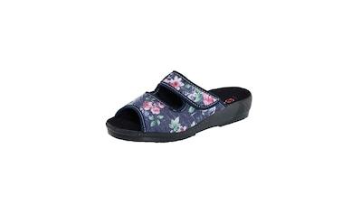 Mae&Mathilda Doppelpack Pantoletten in schönem floralem Design kaufen