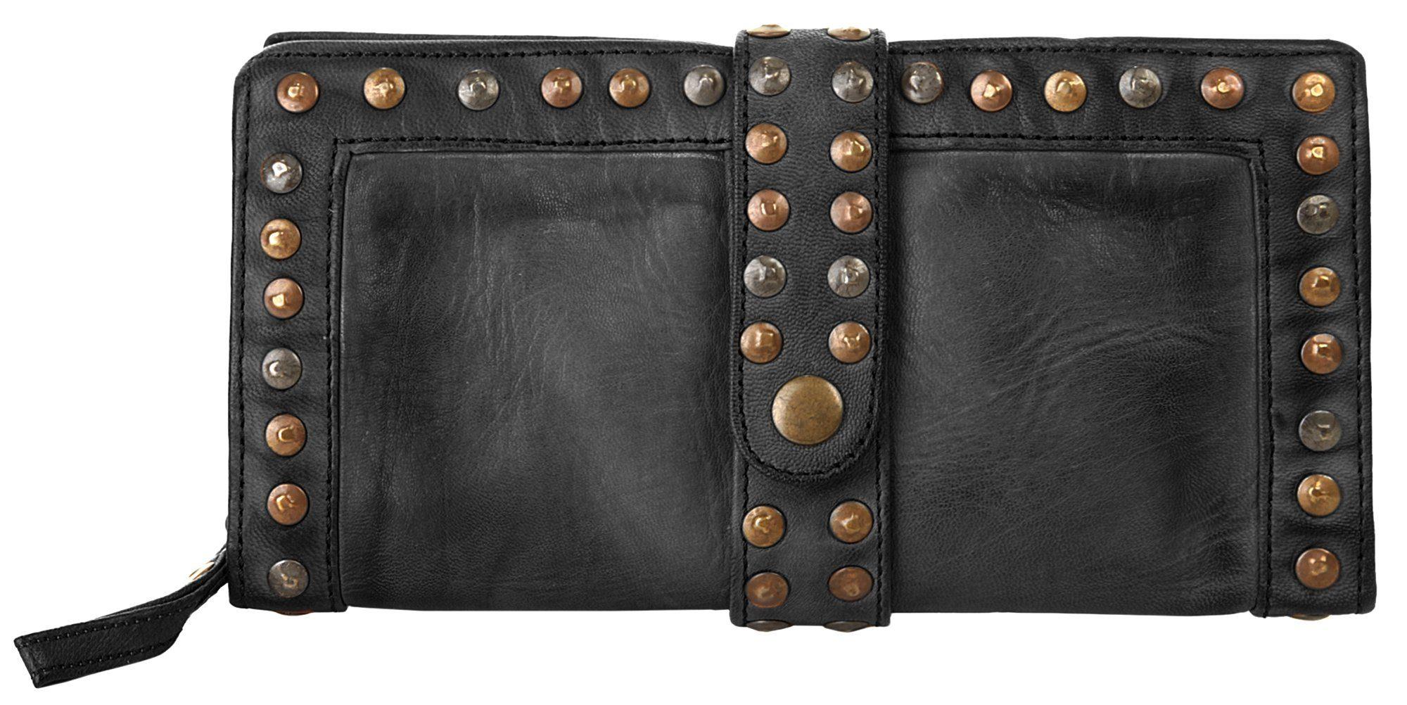 forty° Abendtasche   Taschen > Handtaschen > Abendtaschen   Schwarz   Leder   Forty°