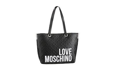 LOVE MOSCHINO Shopper, mit viel Stauraum kaufen