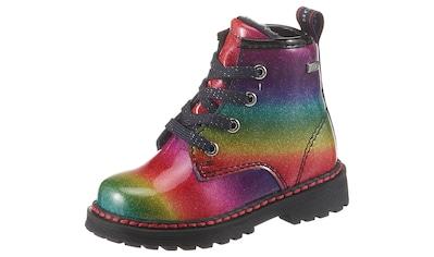 TOM TAILOR Schnürboots, in Regenbogenfarben kaufen