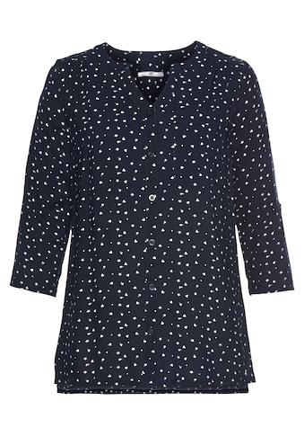 AJC Hemdbluse, mit krempelbarem Ärmel in verschiedenen Druckdesign kaufen