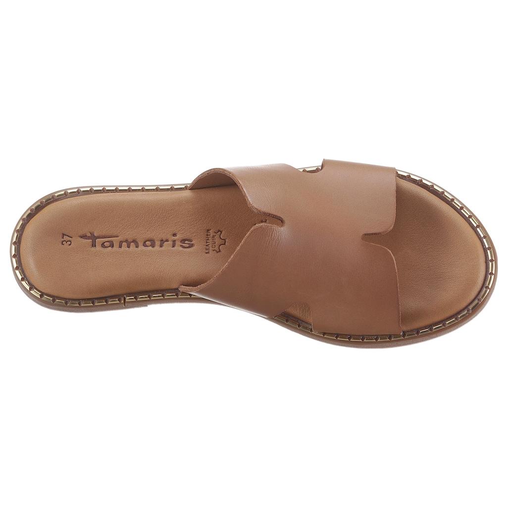 Tamaris Pantolette »TOFFY«, mit Touch It-Ausstattung