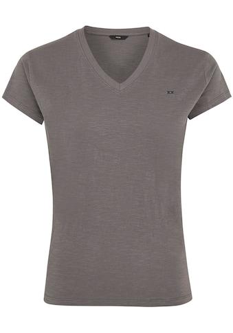 Mexx T-Shirt, mit Logo-Stickerei auf der Brust kaufen