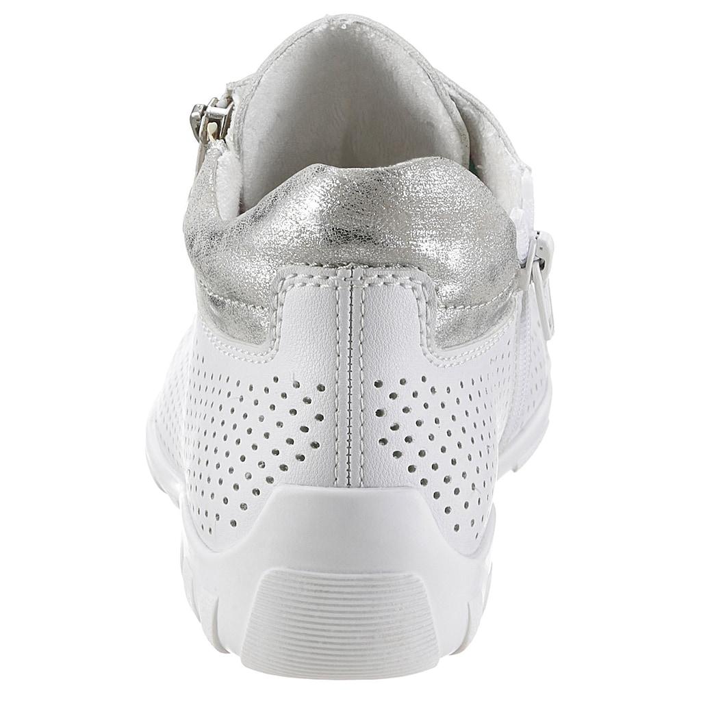 Rieker Sneaker, mit weich gepolstertem Schaftrand
