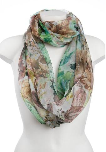 CASSANDRA Schal, mit floralem Allover-Print kaufen