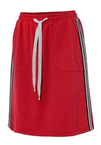 Aniston CASUAL Sweatrock, mit Galonstreifen an den Seitennähten kaufen
