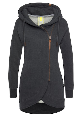 Alife & Kickin Sweatshirt »MaryAK C«, feminine Kapuzen-Sweatjacke mit versetztem... kaufen