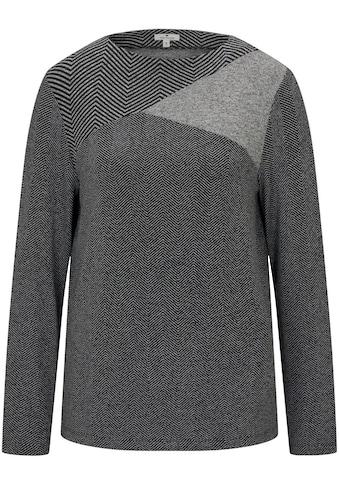 TOM TAILOR Langarmshirt, im Muster-Mix kaufen