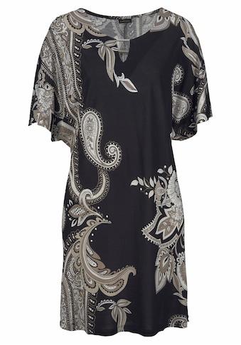 LASCANA Jerseykleid, mit Zierdetail am Ausschnitt kaufen