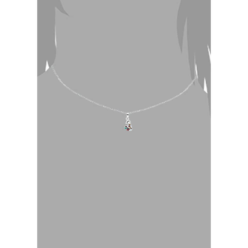 Prinzessin Lillifee Kette mit Anhänger »Seepferd/Stern 2031161«, mit Zirkonia und Emaille