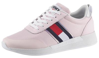 Tommy Jeans Keilsneaker »TECHNICAL FLEXI SNEAKER«, mit Kontrastbesatz an der Ferse kaufen