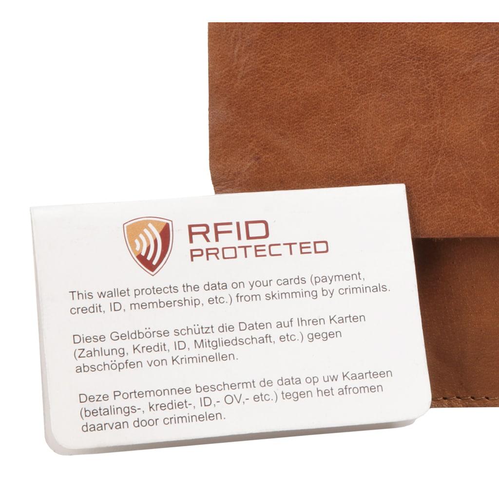 Spikes & Sparrow Abendtasche »RFID«, RFID-Schutz