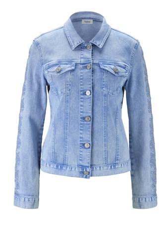 Jeansjacke mit Stickerei kaufen