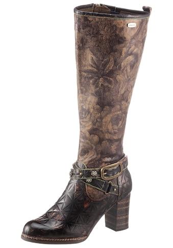 LAURA VITA Stiefel »ELCEAO«, mit bedrucktem Schaft kaufen