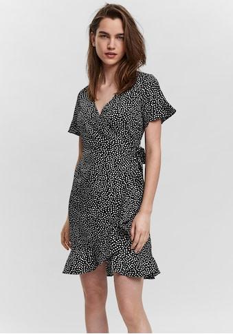 Vero Moda Wickelkleid »VMHENNA 2/4 WRAP FRILL DRESS« kaufen