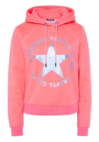 Chiemsee Kapuzensweatshirt »mit metallischem Print« kaufen