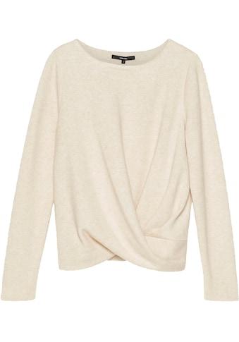 someday Sweatshirt »Udara«, mit Knoten-Optik kaufen