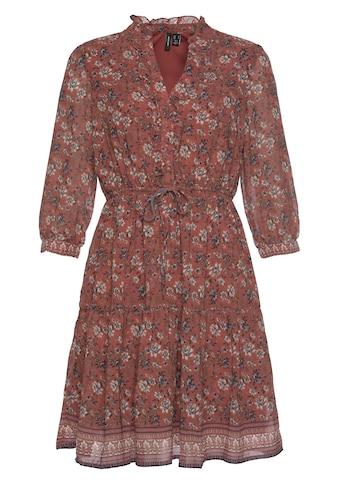 Vero Moda Chiffonkleid »VMBELLA ¾ TIE SHORT DRESS« kaufen