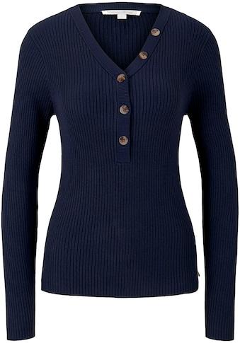 TOM TAILOR Denim V - Ausschnitt - Pullover kaufen