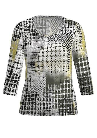 bianca Print-Shirt »DINI«, im stylischen Mustermix mit farblichen Akzenten kaufen