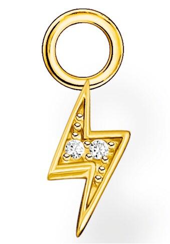 THOMAS SABO Einhänger für Ohrschmuck »Anhänger Blitz gold, Anhänger Blitz silber,... kaufen