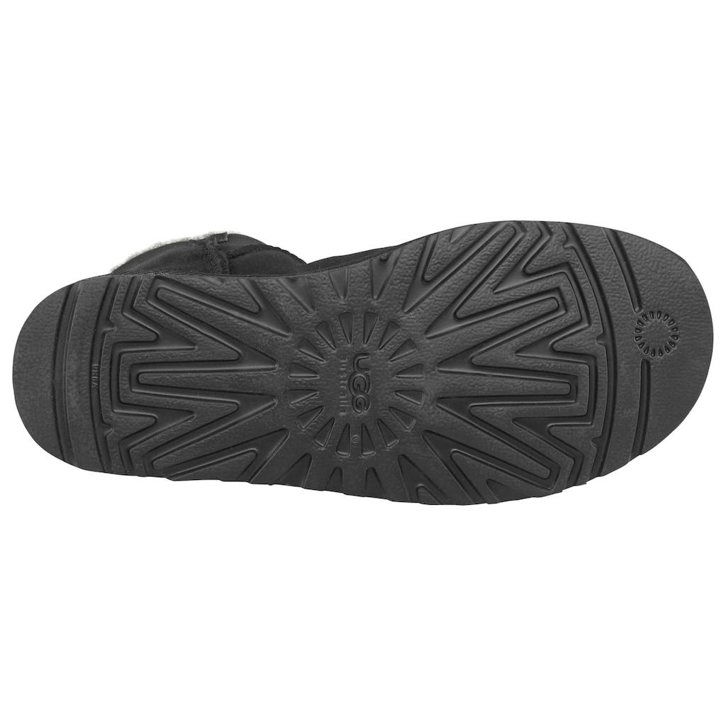 UGG Winterboots »Mini Bailey Button 2«, mit tollem Logoknopf-Detail