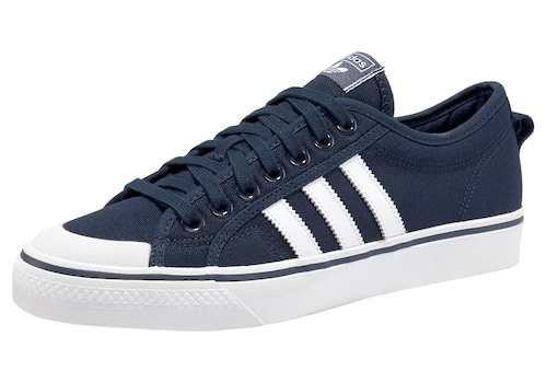 Sneaker Originals Nizza weiß Adidas Marine AwzfPqFn
